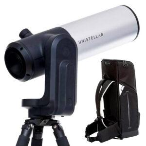 Télescope eVscope Unistellar et sac de transport