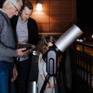 télescope numérique eVscope